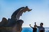 Selfie time (Melissa Maples) Tags: alanya turkey türkiye asia 土耳其 nikon d3300 ニコン 尼康 nikkor afs 18200mm f3556g 18200mmf3556g vr mediterranean sea water art sculpture statue blue selfies turks men photographers