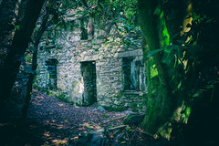 Clearing (ShrubMonkey (Julian Heritage)) Tags: talysarn hall dorothea quarry nantlle house slate disused derelict abandoned forgotten ruin ruined eerie landscape wales building secluded isolation mountains snowdonia sonyalpha cottage