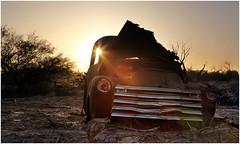 Rusted '53 (Steven Kuipers) Tags: crumbling rural exploring explore classic desert arizona decay forgotten sunrise risingsun dawn rusted rust pickup truck chevrolet chevy 1953