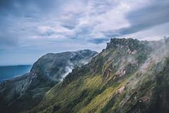 Steaming volcano (Mantere) Tags: bali indonesia mtbatur volcano landscape mountain slope steam green