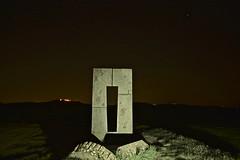 Tonight. (Antonio Cinotti ) Tags: landscape paesaggio toscana tuscany italy italia siena hills colline campagnatoscana cretesenesi asciano nikond7100 nikon d7100 sitotransitorio sitetransitoire nikon1685 leonina nightview mucigliani