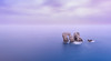 Serenidad en la Puerta del Mar. (David Andrade 77) Tags: cantabria arnía puertadelmar urromanzano urros océano ocean mar marina marinephotography costaquebrada coast costa sea largaexposición longexposure goldennblue singhray minimalismo 24mmf14dghsm a davidandrade