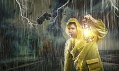 Auf der Suche... (cefotografie) Tags: hurricane unwetter thunder blitze rain regen storm chaos
