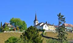 Village de Féchy (Diegojack) Tags: féchy vaud suisse lacôte église vignes paysages villages