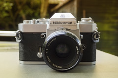 1972 Nikkormat EL (Arne Kuilman) Tags: 1972 nikon nikkormat nikkormatel slr classic retro camera filmcamera sold