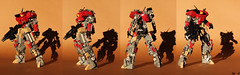 Redeath RD-03 (All views) (Devid VII) Tags: lego moc mech devid vii mecha war troopers foitsop wars trooper city detail details drone walker marines assault dark red dk redeath rd03 all view photos