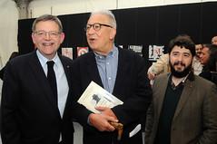 Ximo Puig, Fernando Delgado i Nacho Larraz 28/04/17