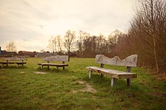Empty... (Maria Godfrida) Tags: nature landscape outdoor outside flora green bench benches emptybenches trees