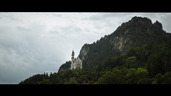 The White Castle (Panda1339) Tags: castle neuschwanstein 58g landscape wideopenlandscapes germany bavaria nikondf trees white