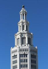 Electric Tower (jmaxtours) Tags: electrictower generalelectrictower beauxartsclassicalrevival 1912 designedbyjamesajohnson buffalonewyork buffalo neon newyork architecture