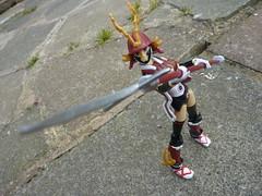 Kei (.Poisoned♥Death.) Tags: busoushinki busou shinki konami figure mms keiko kei samurai benio armour armor