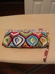 Pleated Wristlet via Punkin Handmade (KellyP03) Tags: handmade via punkin pleated wristlet