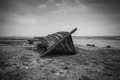 Not Much Left... (TRM-photography.co.uk) Tags: boat kent wreck hoo medway