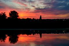 Sunset reflection (Matt H. Imaging) Tags: sky reflection skyscape sony slt a55 sonyalpha sal1855 slta55v ©matthimaging