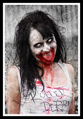 Posessed Zombie (Lee Collings Photography) Tags: people tongue newcastle scary blood zombie evil undead zombies possessed newcastleupontyne frightening evildead stickingtongueout livingdead stickstongueout newcastlezombiewalk zombiewalknewcastle zombiesatnewcastle zombiesnewcastle zombiesofnewcastle