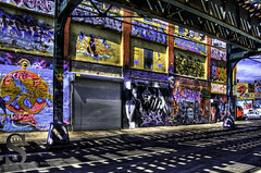 5 Pointz art and shadows- (Tattooed JJ) Tags: nyc ny photography graffiti spring pentax april lic longislandcity 5pointz k5 singingwithlight singingwithlightphotography
