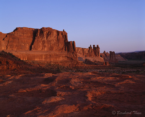 First light at Arches National Park 2