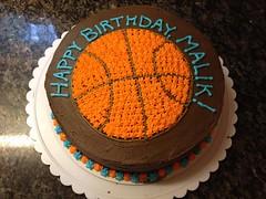 Basketball Cake by Amanda, RDU NC, www.birthdaycakes4free.com