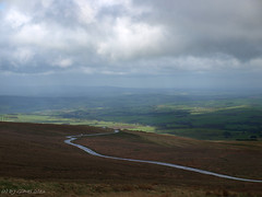 Eden view (ExeDave) Tags: road uk england storm rain clouds landscape geotagged hill may vale valley cumbria gb eden winding viewpoint moorland upland a686 bends 2013 inbye valeofeden hartsidetop p5249281 geo:lat=54769952466451 geo:lon=25517410039901733