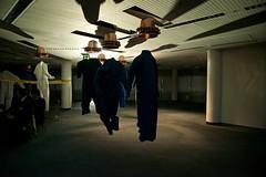 Cast (edwardhorsford) Tags: brazil cinema london film silhouette mystery shadows employment good secret fantasy 80s terry future futurism 20 job org gilliam 40s career bureaucrat goodorg secretcinema20