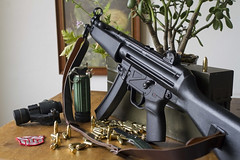 "MKE T94 ""SBR"" MP5 A2 Clone. (Hoplophobia treatmentcenter) Tags: hk clone a2 mp5 mke sbr t94"