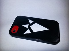 20130611_164611 (pctechwise) Tags: 3d objects case printed iphone 3dprinter makergearm2