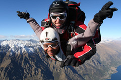 Freefalling over The Remarkables (NZONE Skydive) Tags: newzealand skydiving southisland queenstown skydive parachuting parachute freefall tandemskydive tandemskydiving freefalling