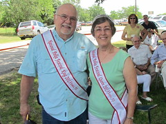 Nick and Shirley Macik National Polka Festival King n Queen (polkabeat) Tags: church boys picnic czech polka ennis czechaholics polkabeat