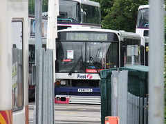 Withdrawn First Glasgow Volvo B10M 61517 Blantyre Depot 27/06/13 (David_92) Tags: volvo glasgow first ps depot alexander withdrawn tys blantyre 61517 b10m55 p547 p547tys