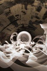 White cathode culvert (- Hob -) Tags: longexposure white lightpainting underground spiral ribbons culvert urbex coldcathode singleexposure 2266 rawconversion 光绘 光の絵画 wwwfacebookcompageslightpaintingorguk517424921642831