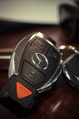 Car Keys (Thomas Tung) Tags: color up car keys mercedes nikon close e350 d3100