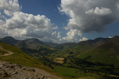 Derwent Fells Cumbria (jon lees) Tags: uk england lake mountains day cloudy lakedistrict hills cumbria derwentwater keswick