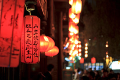 Chinese Traditional Lantern (Franky Lee) Tags: china light red lantern chinesepoem