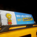 Lisa Simpson - Butterfinger Candy Bar Taxi Cab AD 3524