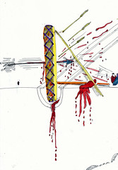 Greedies (magnusmangomango1) Tags: art film animals paper photography time drawing mirrors meat memory irony waste idiots vain gelatine burkes recyclable murderers gigabites brainmemory spaceinternet photograperegotists