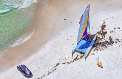 rent a boat (jjdraft) Tags: beach sailboat hdr panamacitybeach 3xp photomatix nikon70300mm nikond90 topazclear3