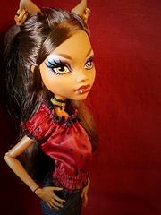 Clawdeen (monster marionette) Tags: monster high wolf doll mh mattel clawdeen