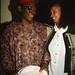 Chief Stephen Osita Osadebe (RIP) from Nigeria Hosted by  Equator Club Philadelphia Fouzia from Somalia 1997 306