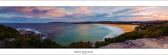 North Curl Curl (John_Armytage) Tags: sunset panorama beach clouds rocks surf dusk pano australia panoramic textures nsw headland northernbeaches northcurlcurl canon5d3 johnarmytage sigma35mmf14dg