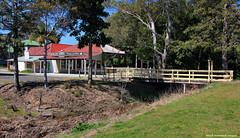 Old Shops and Footbridge, Nabiac, NSW (Black Diamond Images) Tags: footbridge australia greatlakes nsw shops oldshops bdi ruralvillage midnorthcoast nabiac historicgreatlakes forstertuncurryhinterland nabiacnsw historicnabiac