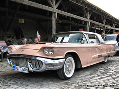 Ford Thunderbird - Witten - Zeche Nachtigall_3426_2012-08-11 (linie305) Tags: auto classic cars ford car germany deutschland us meeting oldtimer autos thunderbird witten zeche coalmine nightingale westfalen lippe lwl bergwerk industriemuseum uscar oldtimertreffen nachtigall landesverband