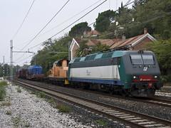 E405.022 + MD da Cervignano a TS Campo Marzio - 06/10/2013 (mikelets84) Tags: md campo ts trieste 022 grignano marzio cervignano d145 e405
