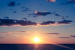 Sunset (L'Amina) Tags: sunset sea summer sky cloud sun finland gulf