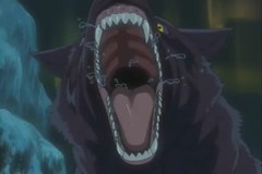 More Wolf Mawshots (qwertyuiop767) Tags: blue rain tongue tooth mouth dark gum fur wolf jaw teeth cartoon wide maw eat animation lip wolfs throat kiba hige wolves gaping slobber vore saliva animae