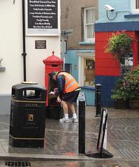 Penfold Pillar Box, Tudor Square, Tenby, Pembrokeshire 17 September 2013 (Cold War Warrior Follow Me on Ipernity) Tags: postoffice pembrokeshire tenby gpo