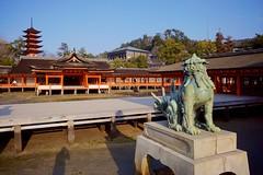 Itsukushima Shrine Lion (Jake in Japan) Tags: japan shrine sony lion hiroshima miyajima   shishi itsukushima     apsc nex7 sel1018 e1018mmf4oss jakejung gettyimagesjapan13q4 gettyimagesjapan13q3