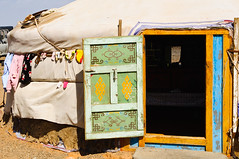 Nomadic Life (amytheblue) Tags: autumn moon mountains sunshine holidays tour desert bluesky mongolia goats nomad camels gobi sanddunes ger nomadic gobidesert flamingcliffs 2013 outsidetoilets