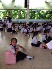 1/10/2013 เข้าค่ายลูกเสือที่โรงเรียนสาธิต