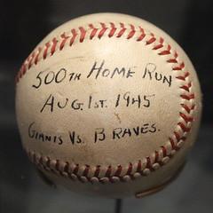 Mel Ott's Ball (Read2me) Tags: she red white sign sport writing circle word baseball number sphere round shape handwritten duele cye gamewinner flickrchallengewinner thechallengefactory pregamewinnersweep