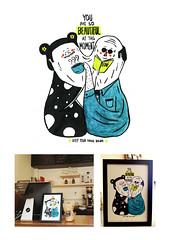 you are so beautiful at this moment ( Chi Wai Un) Tags: coffee beautiful illustration macau  unchiwai chiwaiun